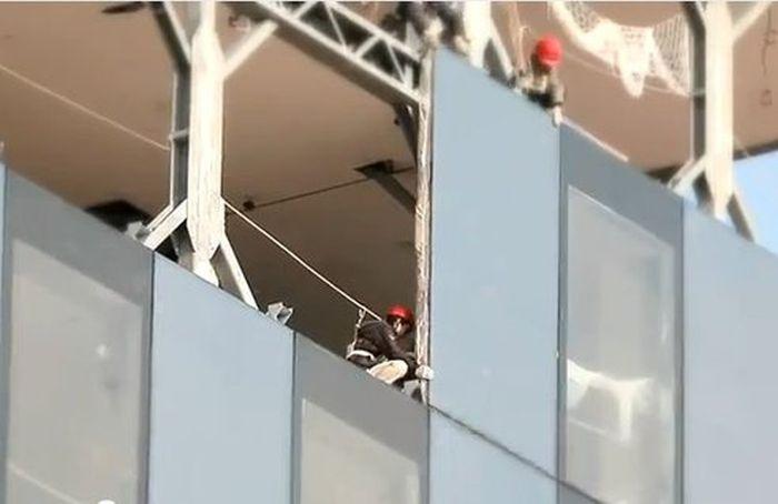 Китайские строители возвели 57-этажный дом за 19 дней (9 фото)