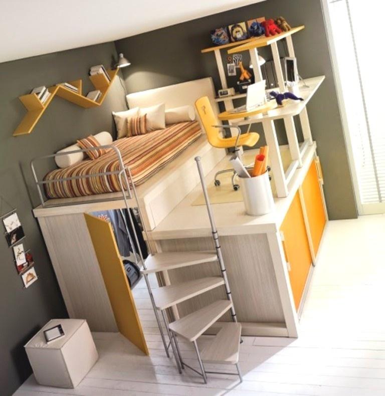 Креативные решения проблемы спального места (14 фото)