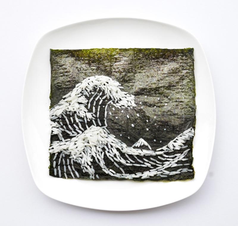 Фуд-арт от малазийской художницы Хонг Йи (40 картинок)