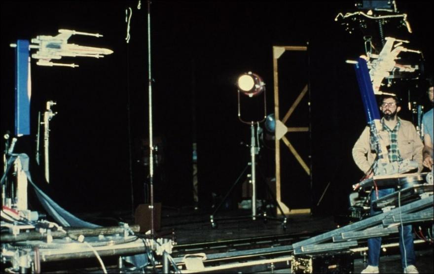 """Как создавались """"Звездные войны"""" (97 фото)"""