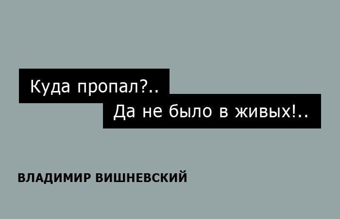 Классные одностишия Владимира Вишневского (15 картинок)