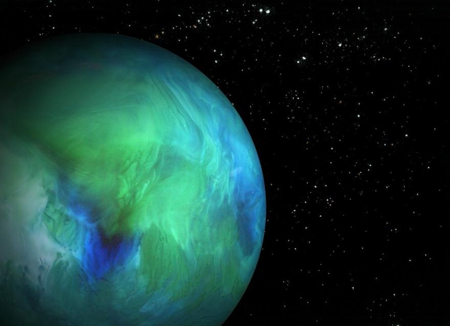 Классные картины космоса, созданные при помощи продуктов