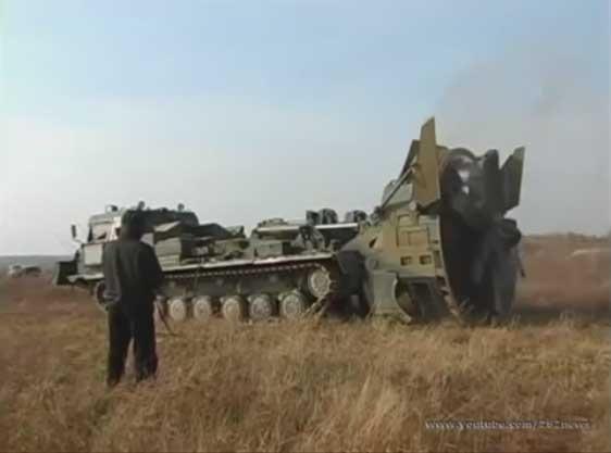 Военные землеройные машины