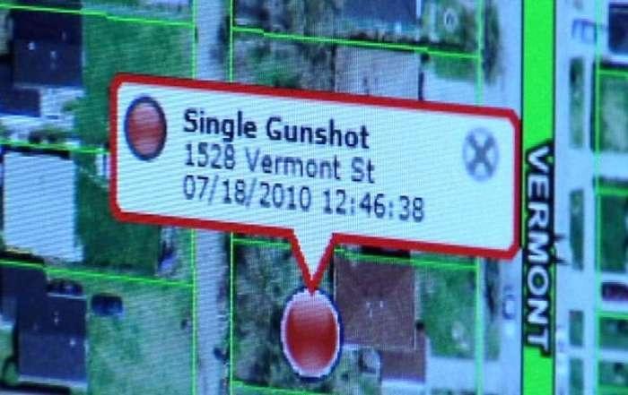 Система отслеживания выстрелов в городской среде (4 фото)