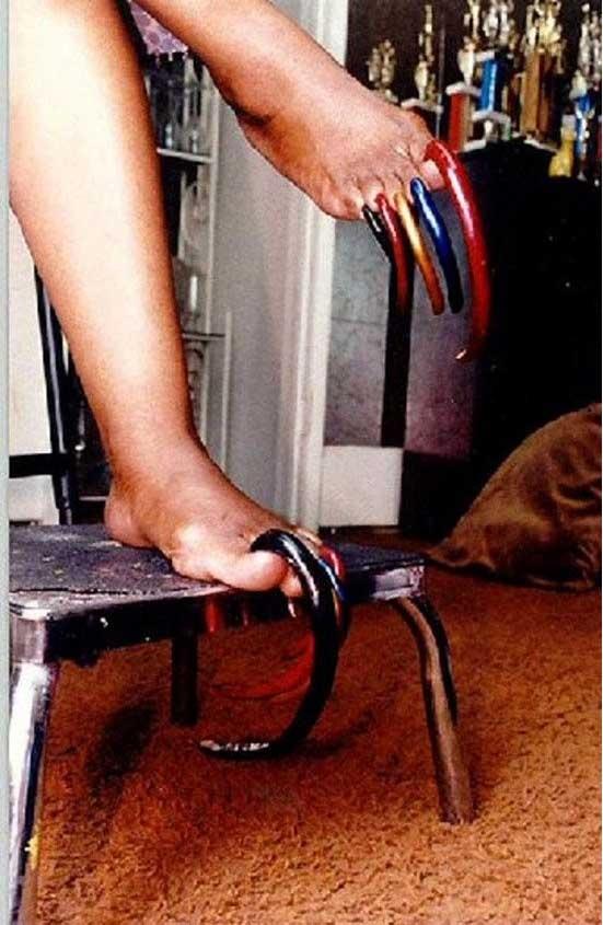 Ногти на ногах - какими они могут быть (10 фото)