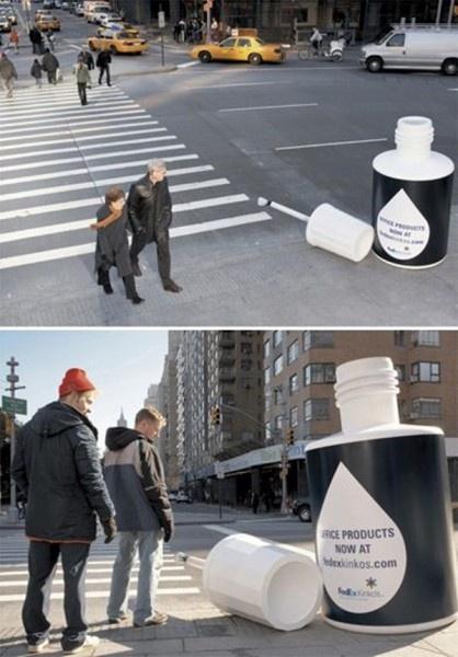 Прикольная креативная реклама (15 картинок)