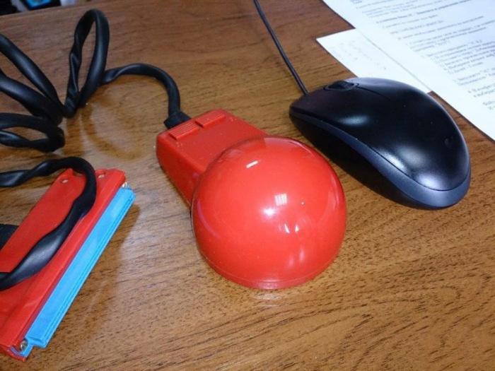 Как выглядела компьютерная мышь 25 лет назад (8 фото)
