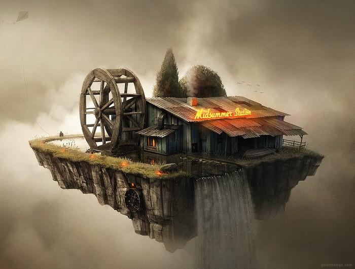 Фантазийные миры Пранкевичуса (10 фото)