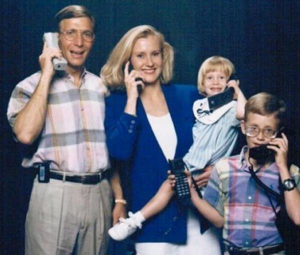 Прикольные семейные фотографии (33 фото)