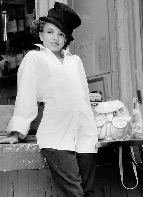 Неизвестные фотографии юной Бритни Спирс (12 фото)