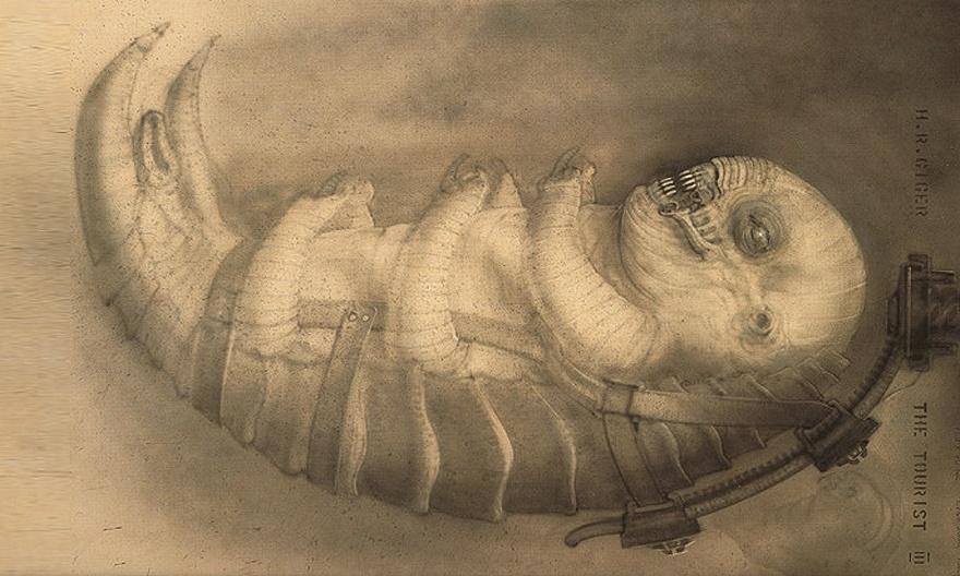 История Ганса Гигера - создателя образа Чужих (16 фото)