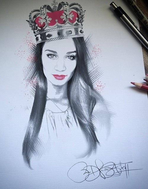 Карандашные рисунки Рубена Рамоса (22 рисунка)