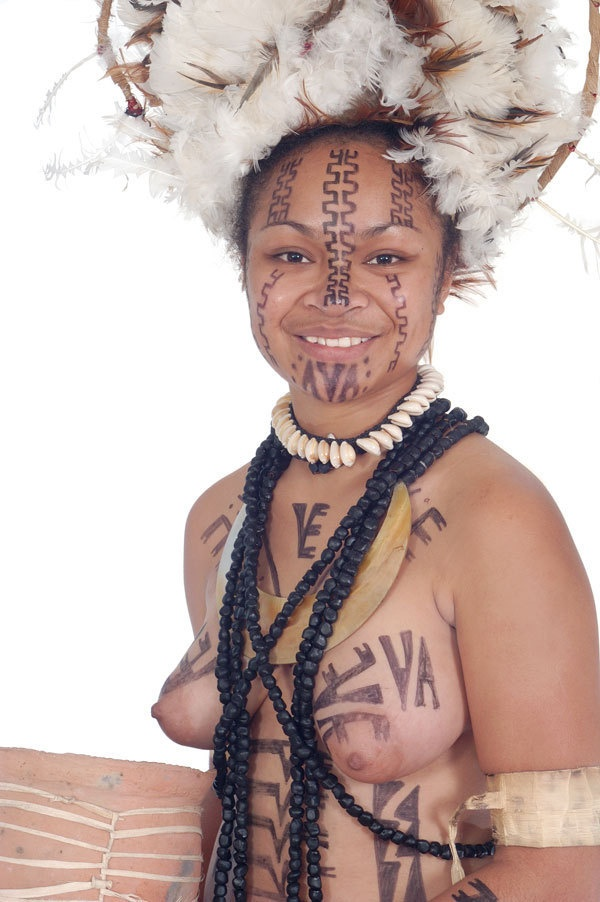 Претендентки на звание мисс Папуа-Новая Гвинея (28 фото)