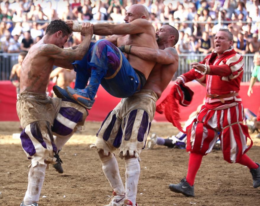 Девять соревнований для настоящих мужчин