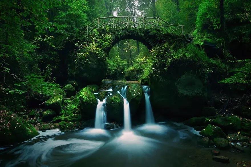 20 фотографий красивых и загадочных мостов