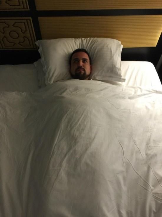 Печальный мужик отдыхает в Пуэрто-Рико (14 фото)
