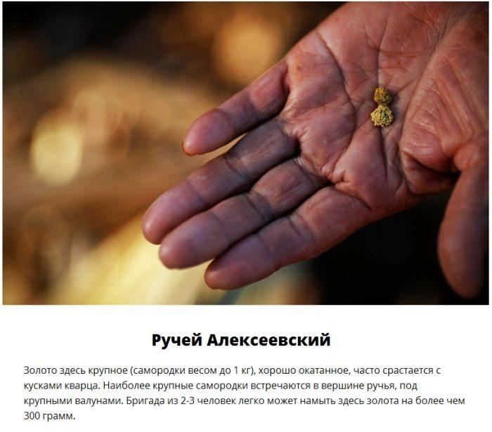 Золотоносные реки России (10 фото)