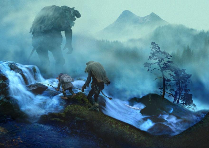 Картины с троллями художника из Норвегии Ивара Рёднингена (Ivar Rodningen) (20 картин)