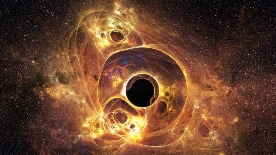 10 интересных гипотез и фактов о черных дырах (10 фото)