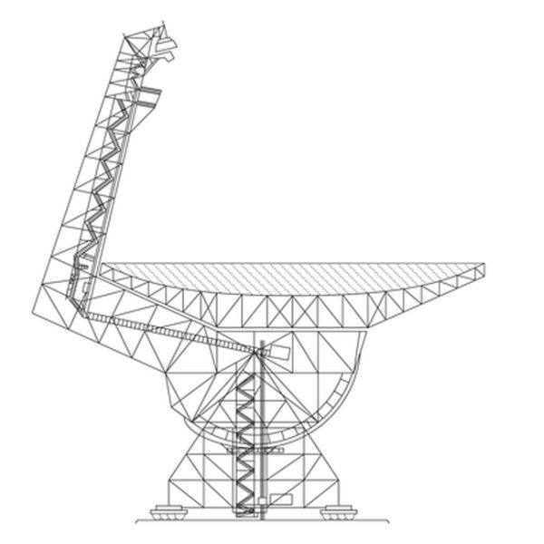 Город в национальной зоне радиомолчания (4 фото)