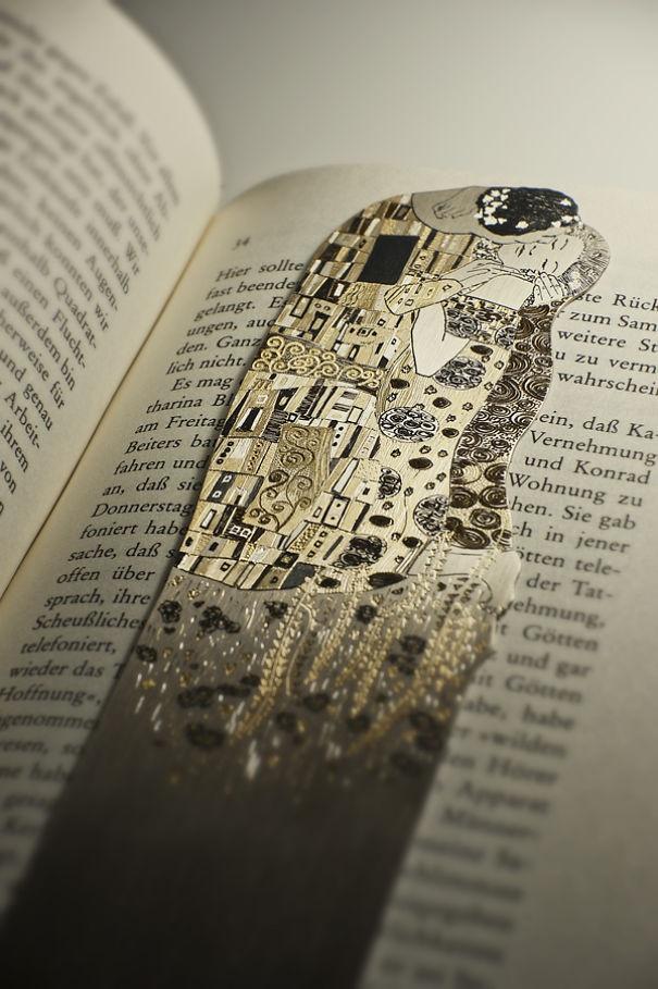 Уникальные закладки для книг из серебра (14 фото)