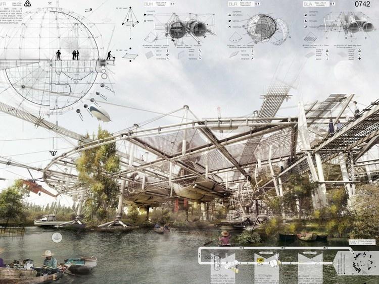 Небоскребы будущего (19 фото)