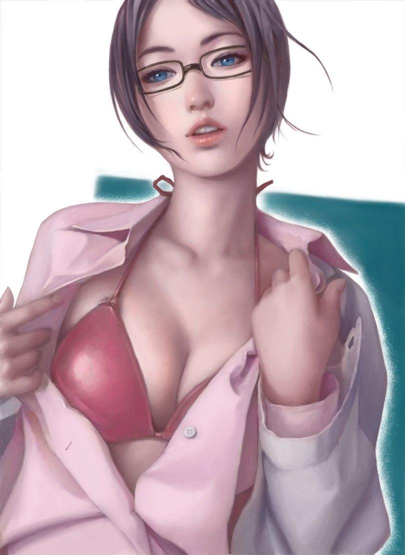 Красивые рисунки девушек (28 картинок)