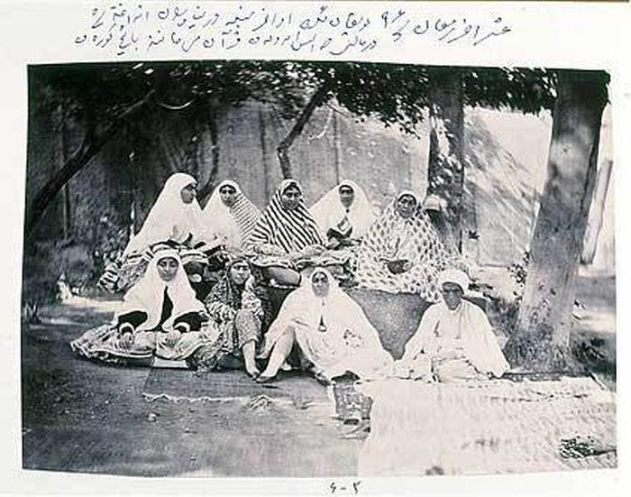 Наложницы и жены шаха Ирана в XIX веке (12 фото)