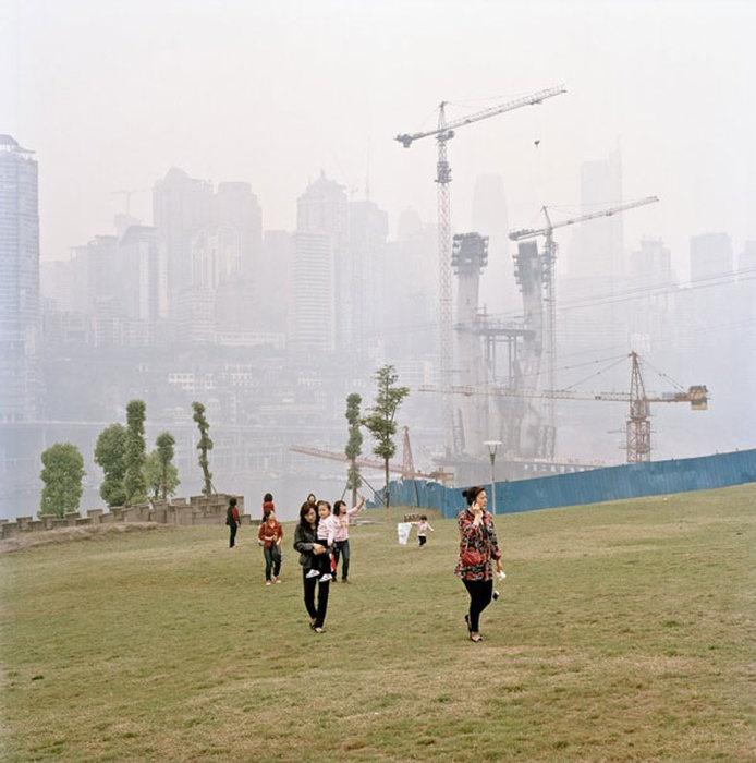 Как выглядит китайский мегаполис (37 фото)