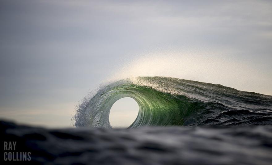 Завораживающие фотографии океана Рэя Коллинза (13 фото)