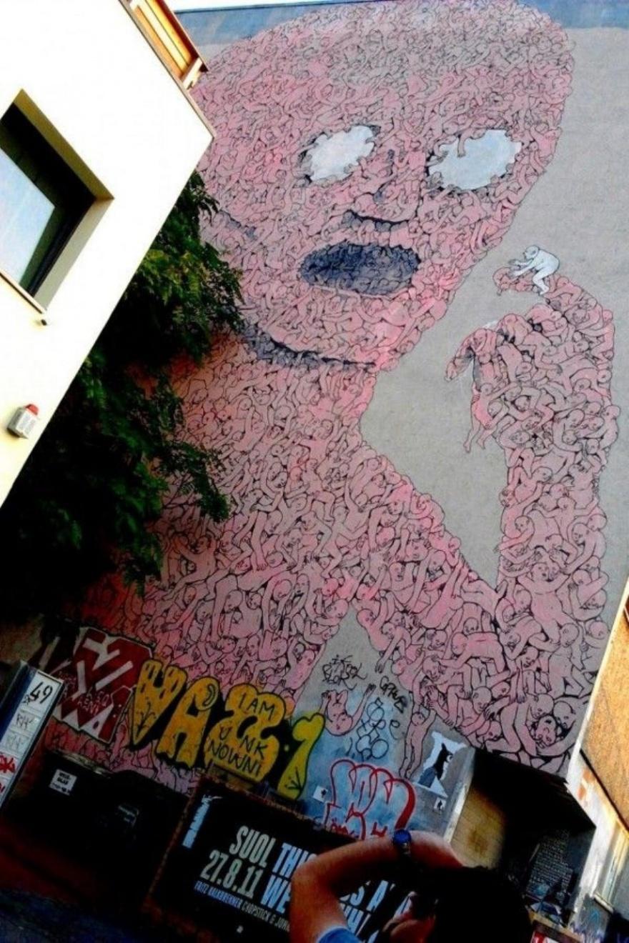 Классный стрит-арт 10.04.2015 (25 фото)