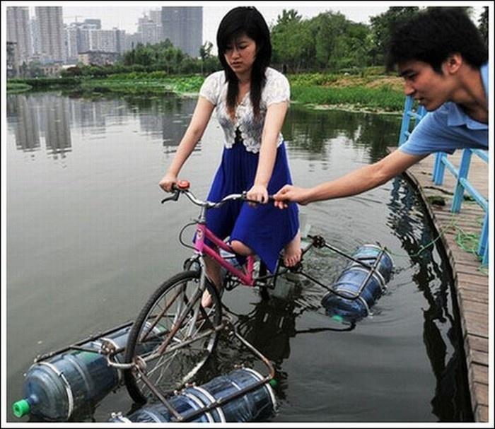 Созданные из подручных материалов вещи, облегчающие людям жизнь (10 фото)
