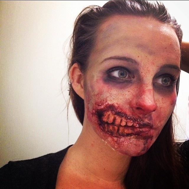 Творения профессионального визажиста для фильмов ужасов (28 фото)