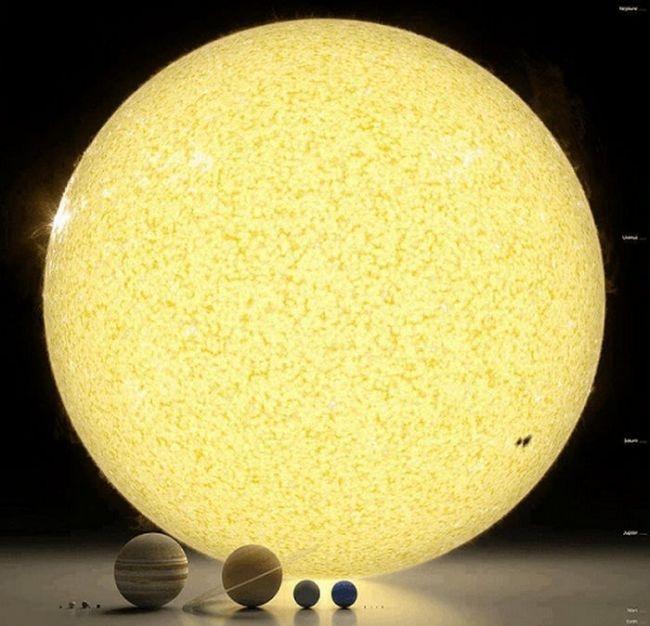 Наиболее известные изображения планет Солнечной системы (10 фото)