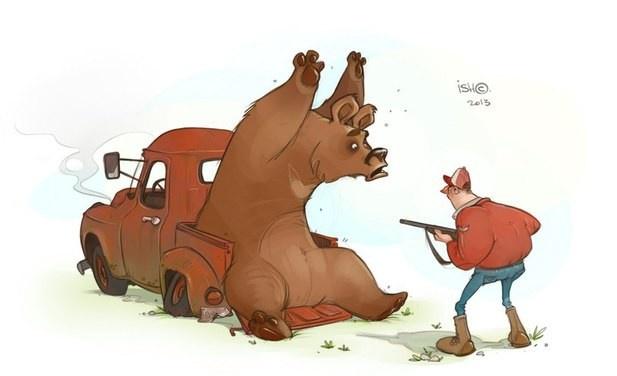 31 забавная картинка от Сергея Ишмаева