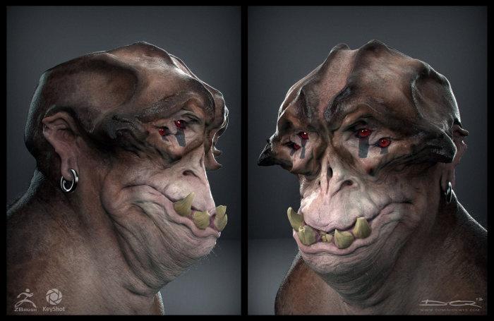 3D-чудовища для компьютерных игр от Доминика Квека (30 рисунков)
