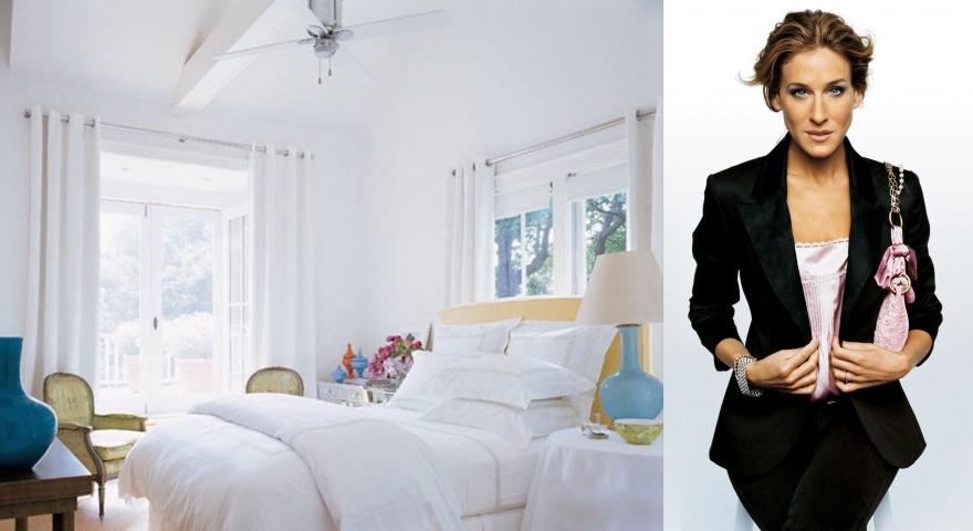 Спальни знаменитостей (10 фото)