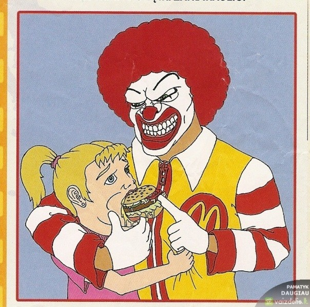 23 картинки, созданные противниками Макдоналдс