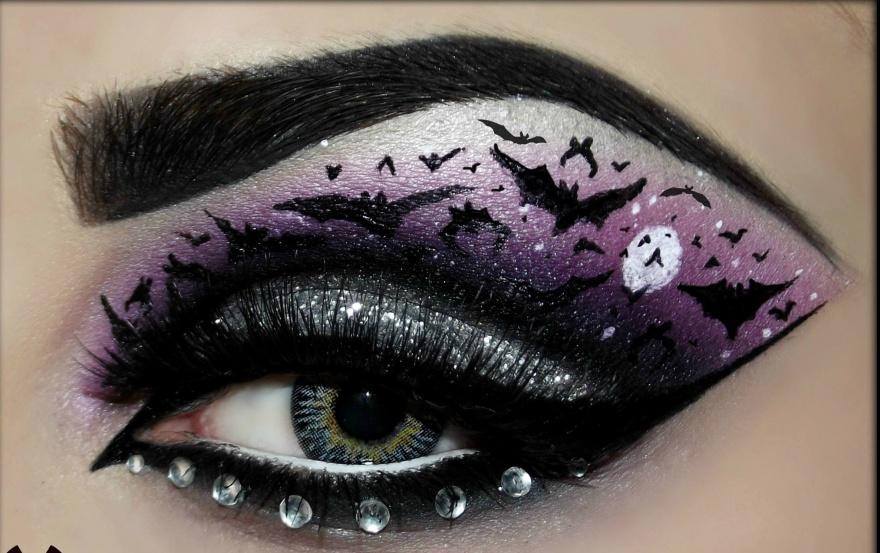 Необычный и креативный макияж (24 фото)