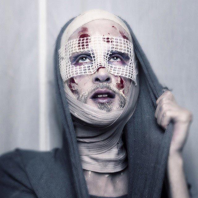 Женщина с бородой в исполнении визажиста Мату Андерсена (23 фото)