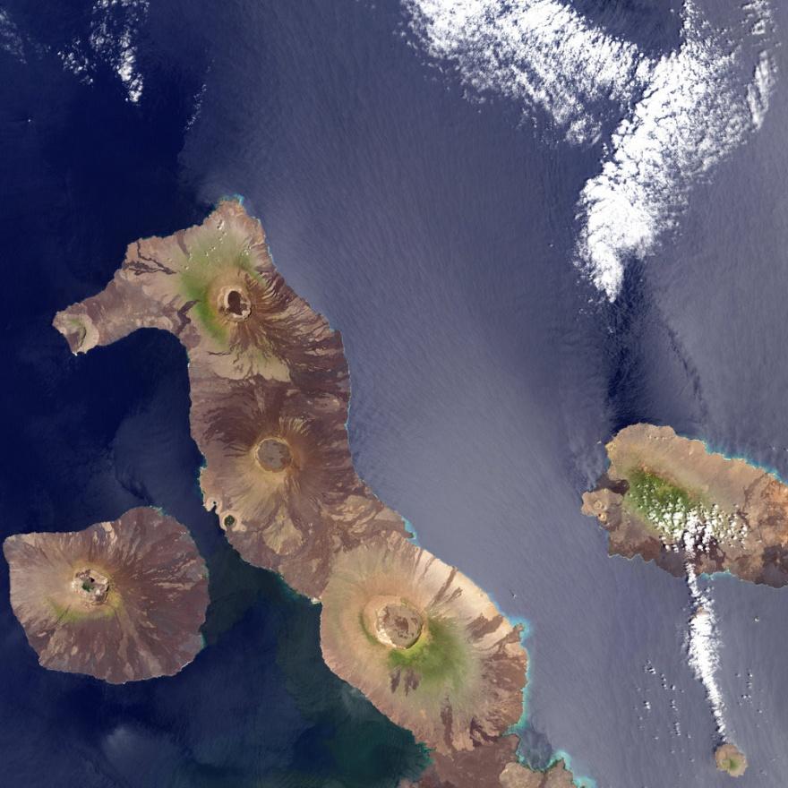 Острова, имеющие необычную форму (12 фото)