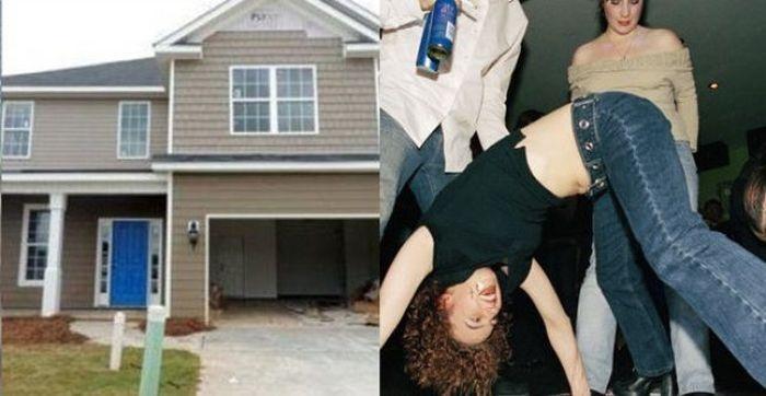 Сумасшедшая вечеринка, закончившаяся лишением родительских прав (3 фото)
