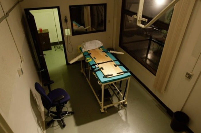 Помещения, в которых казнят преступников в США (27 фото)