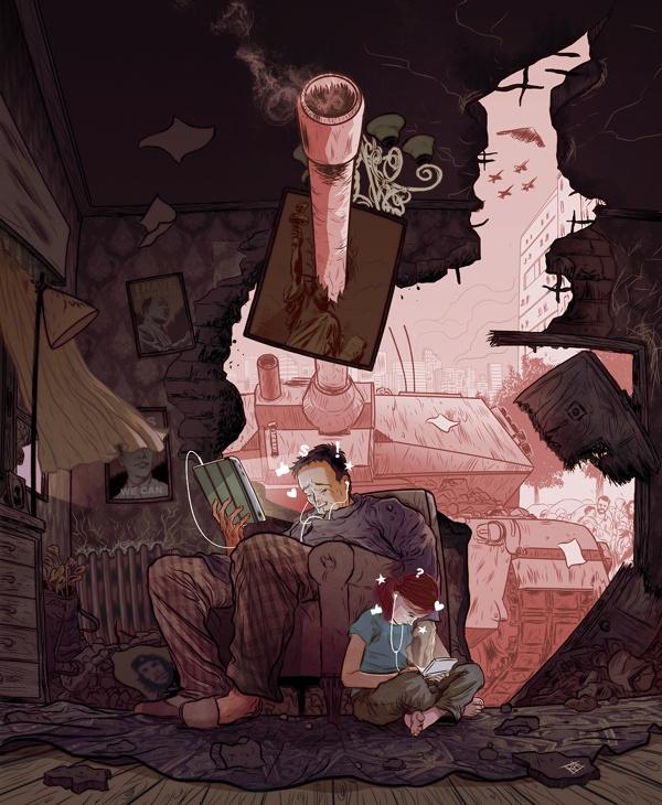 Иллюстрации Рафаэля Альвареса (15 картинок)