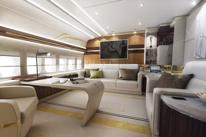 Роскошный Boeing, созданный по индивидуальному заказу (13 фото)