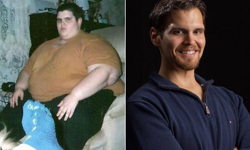 Удивительные истории и фото людей, сбросивших лишний вес (10 фото)