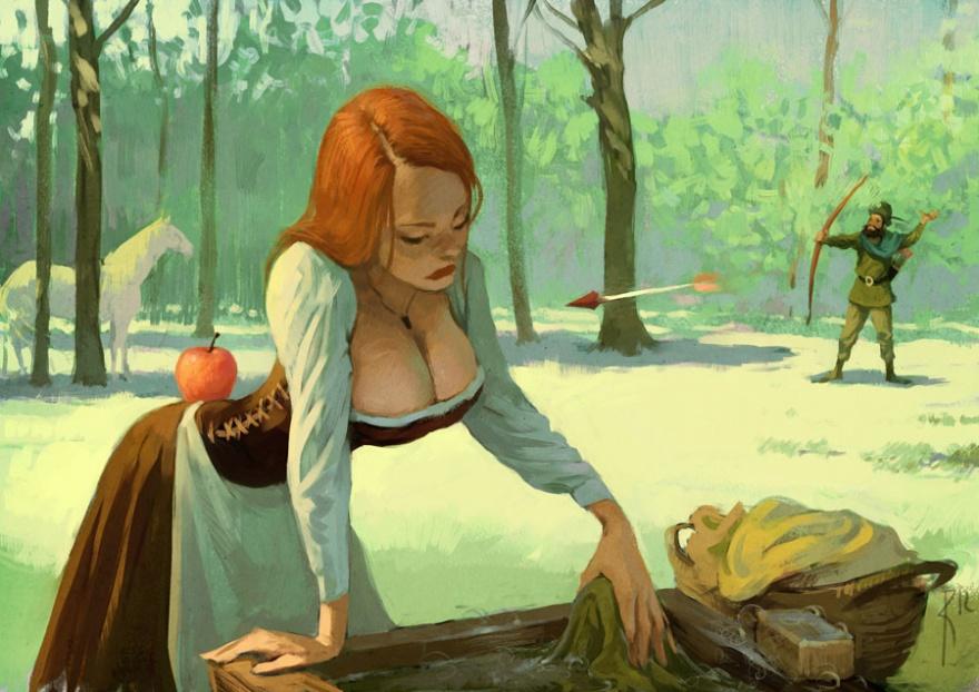 Классные рисунки Вальдемара Казака (36 картинок)