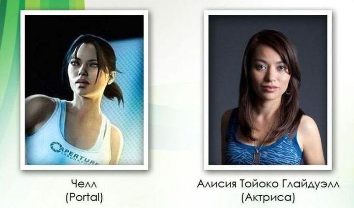 Люди, являющиеся прототипами героев компьютерных игр (25 фото)