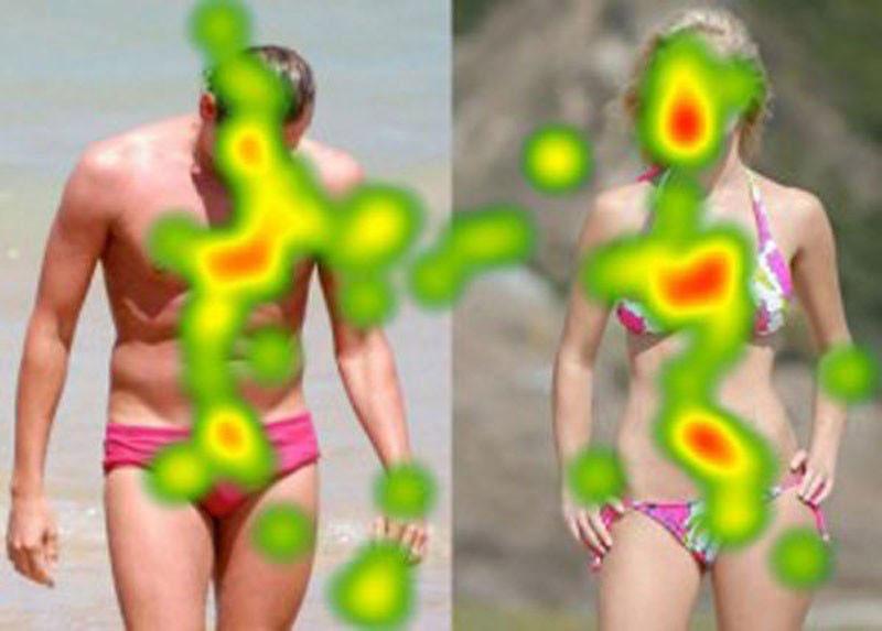 Как люди смотрят на мир - результаты, полученные с помощью датчиков взгляда (29 фото)
