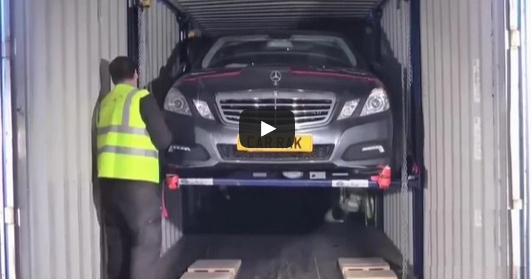 Как загрузить 4 машины в один контейнер